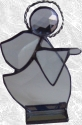 Stained Glass Bevel Angel