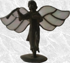 Stained Glass Herald Angel