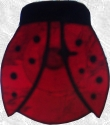 Stained Glass Suction Cup Ladybug