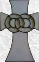 Stained Glass Wedding Cross